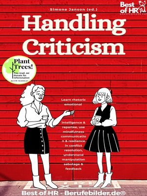 cover image of Handling Criticism