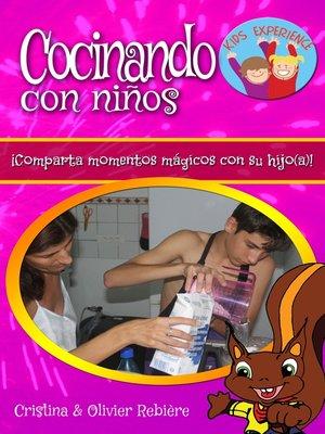 cover image of Cocinando con niños