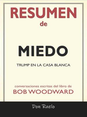 cover image of Resumen de Miedo