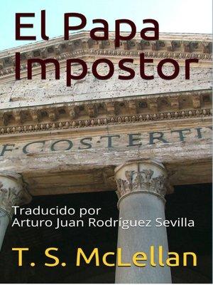 cover image of El Papa Impostor