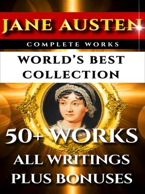 cover image of Jane Austen Complete Works - World's Best Ultimate Collection