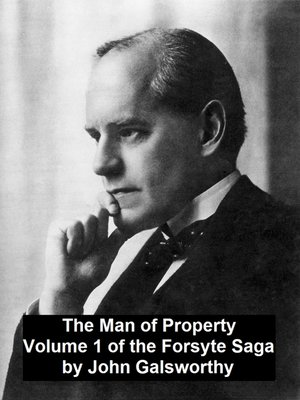cover image of The Man of PropertyVolume 1 of the Forsyte Saga