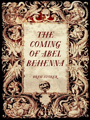 cover image of The Coming of Abel Behenna