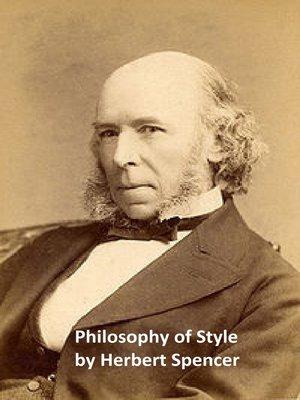 herbert spencer philosophy of style pdf