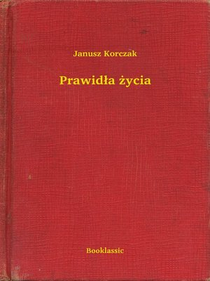 cover image of Prawidła życia
