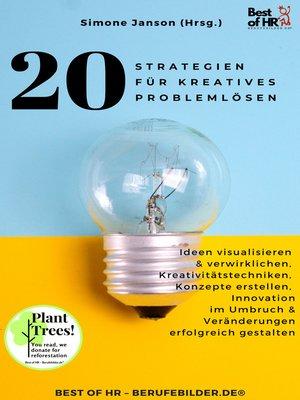 cover image of 20 Strategien für Kreatives Problemlösen