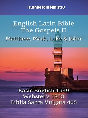 cover image of English Latin Bible - The Gospels II - Matthew, Mark, Luke and John
