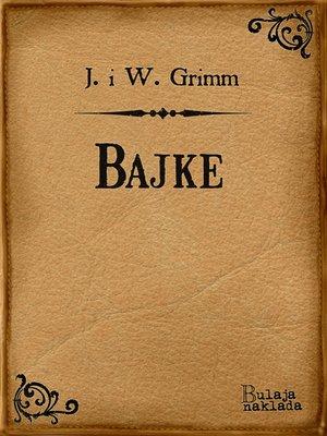 cover image of Bajke