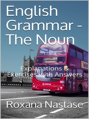 cover image of English Grammar--The Noun