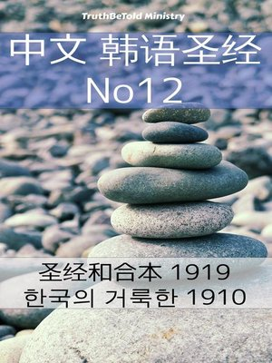 cover image of 中文 韩语圣经 No12