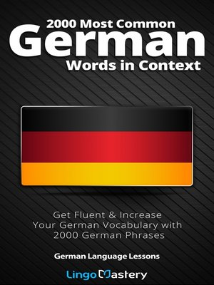 cover image of 2000 Most Common German Words in Context