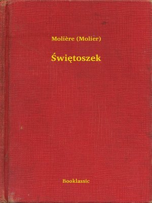 cover image of Świętoszek