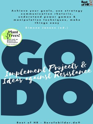 cover image of GO DO! Implement Projects & Ideas against Resistance