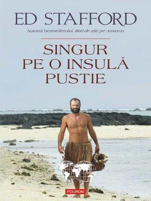 cover image of Singur pe o insulă pustie