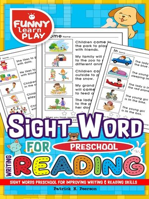 cover image of Sight Words Preschool