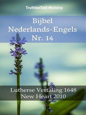 cover image of Bijbel Nederlands-Engels Nr. 14