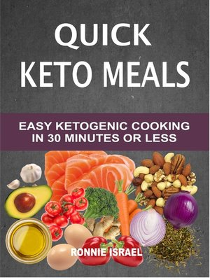 cover image of Quick Keto Meals