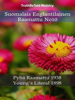 cover image of Suomalais Englantilainen Raamattu No10
