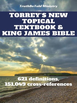 cover image of Torrey's New Topical Textbook and King James Bible