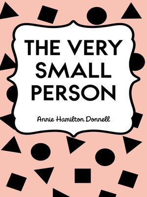 cover image of The Very Small Person