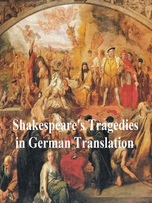 cover image of Shakespeare Tragedies in German translation: seven plays