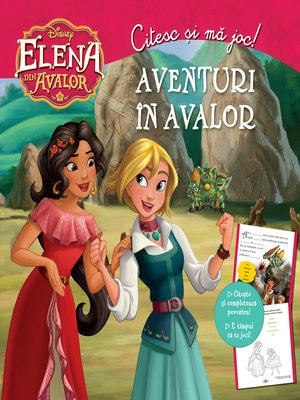 cover image of Elena Din Avalor. Aventuri in Avalor