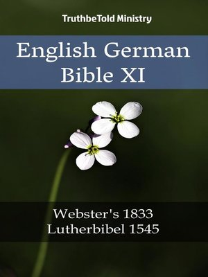 cover image of English German Bible XI