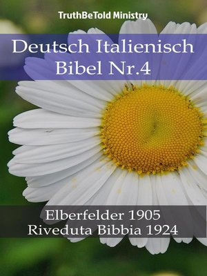 cover image of Deutsch Italienisch Bibel Nr.4