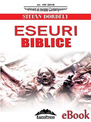 cover image of Eseuri biblice