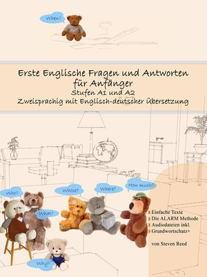 cover image of Erste Englische Fragen und Antworten für Anfänger