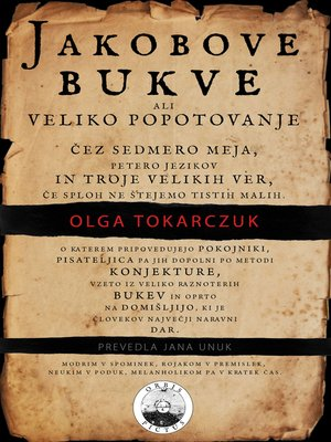 cover image of Jakobove bukve