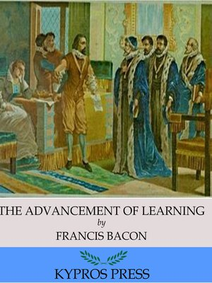 cover image of The Advancement of Learning