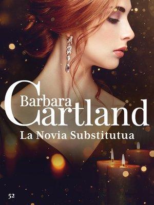 cover image of La Novia Substituta