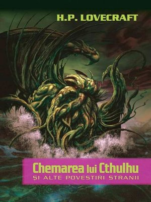 cover image of Chemarea lui Cthulhu și alte povestiri stranii