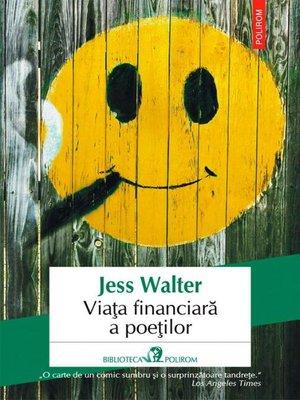 cover image of Viața financiară a poeților