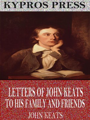 cover image of Letters of John Keats to His Family and Friends