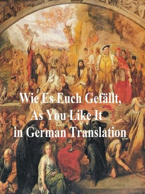 cover image of Wie Es Euch Gefallt (As You Like It in German translation)