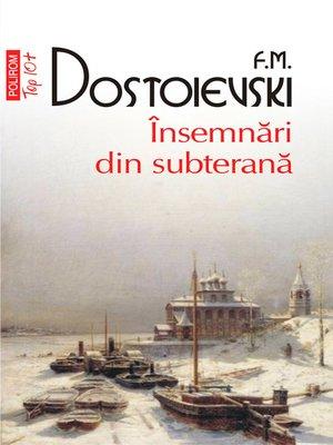 cover image of Insemnari din subterana
