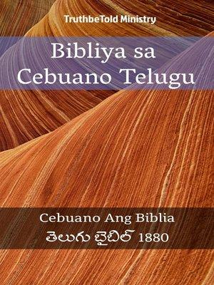 cover image of Bibliya sa Cebuano Telugu