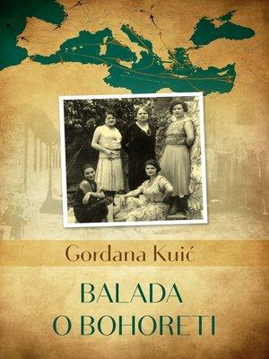 cover image of Balada o Bohoreti