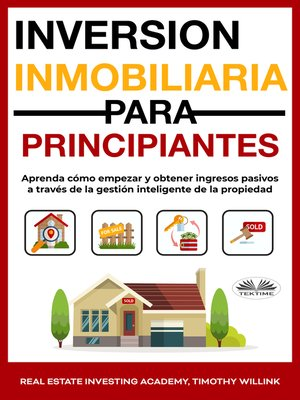 cover image of Inversión Inmobiliaria Para Principiantes