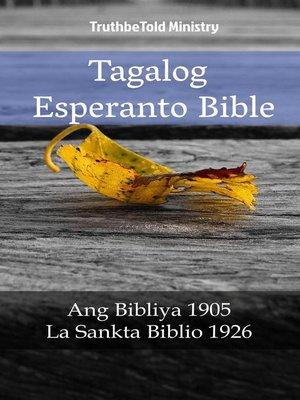 cover image of Tagalog Esperanto Bible
