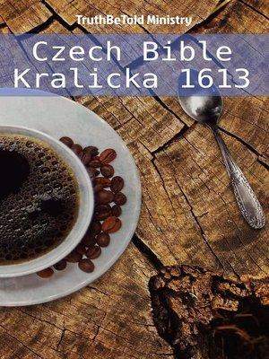 cover image of Bible kralická 1613
