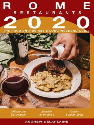 cover image of 2020 Rome Restaurants