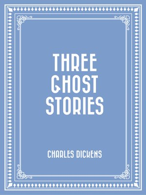 cover image of Three Ghost Stories