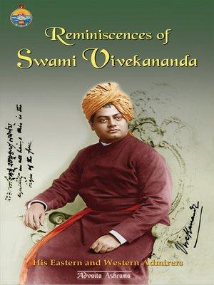 cover image of Reminiscences of Swami Vivekananda