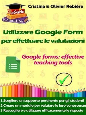 cover image of Utilizzare Google Form per effettuare le valutazioni