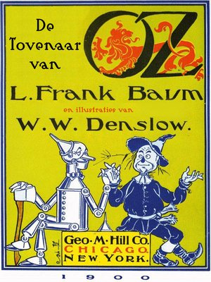 cover image of De tovenaar van Oz