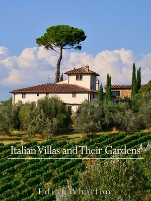 cover image of Italian Villas and Their Gardens