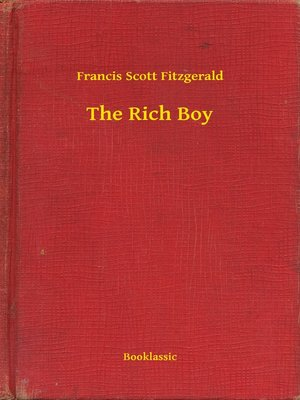 cover image of The Rich Boy